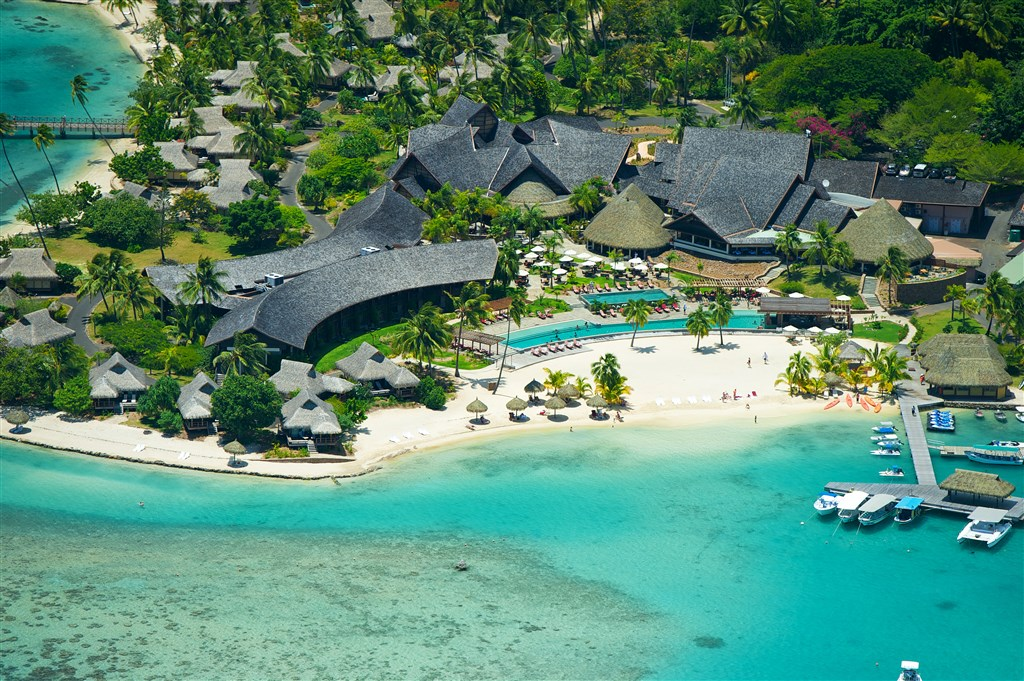 InterContinental Resort And Spa Moorea - ostrov Moorea - Moorea