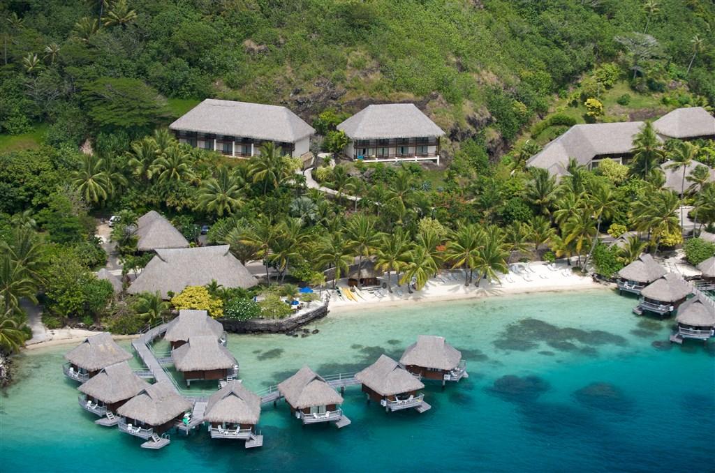 Maitai Polynesia - ostrov Bora Bora -