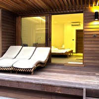 The Barefoot Eco Hotel - seaside room terasa - ckmarcopolo.cz