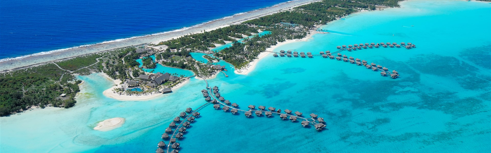 Four Seasons Resort - ostrov Bora Bora -