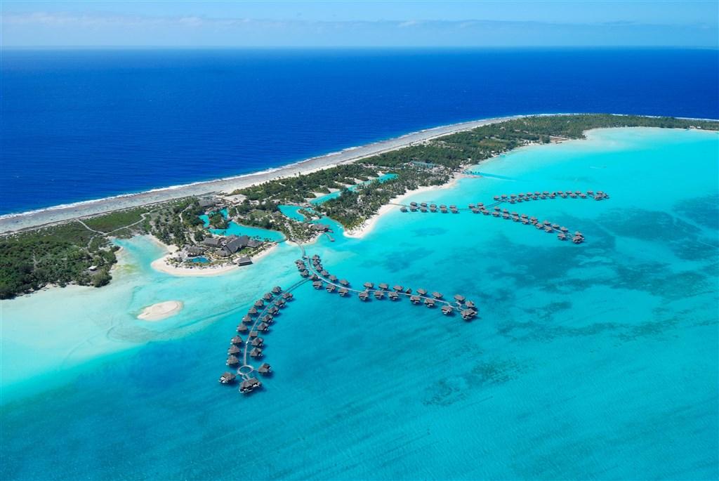 Four Seasons Resort - ostrov Bora Bora