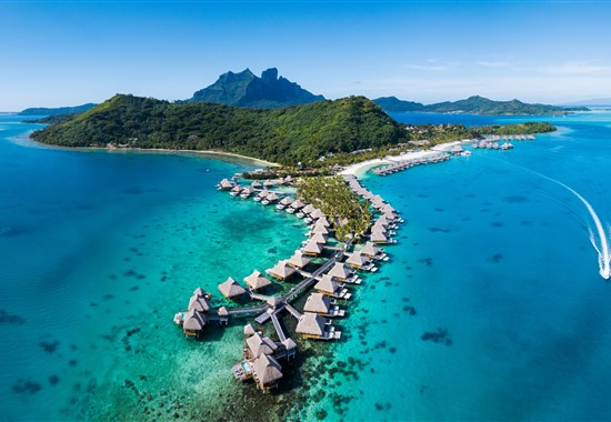 Conrad Bora Bora Nui Resort & Spa - ostrov Bora Bora - Francouzská Polynésie -
