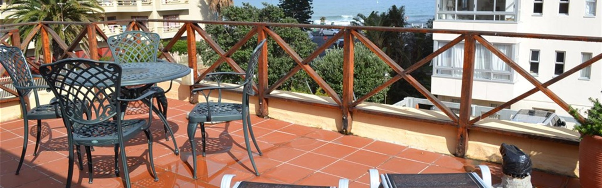 Marco Polo - Greenfire Lodge Cape Town - Greenfire Lodge Kapské Město - terasa penthouse