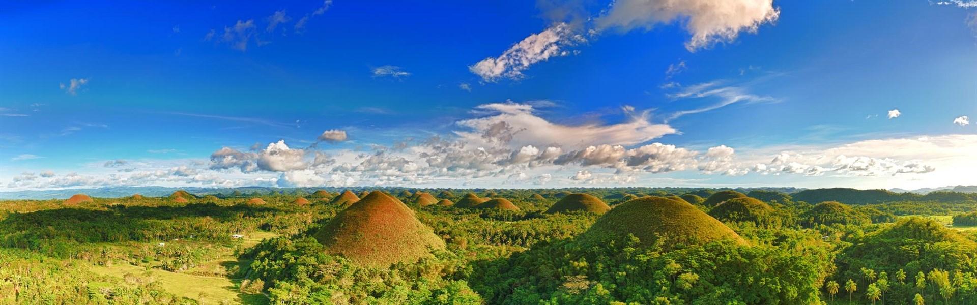 Přírodní krásy a pláže Boholu -