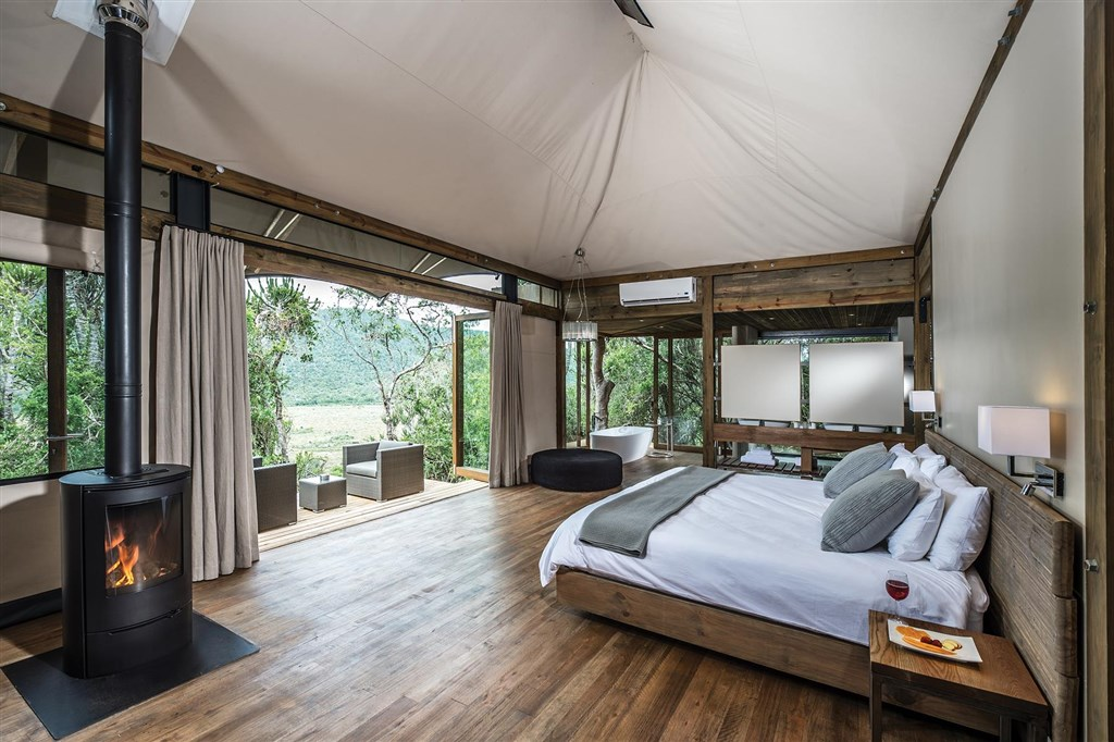 Luxusní safari stan