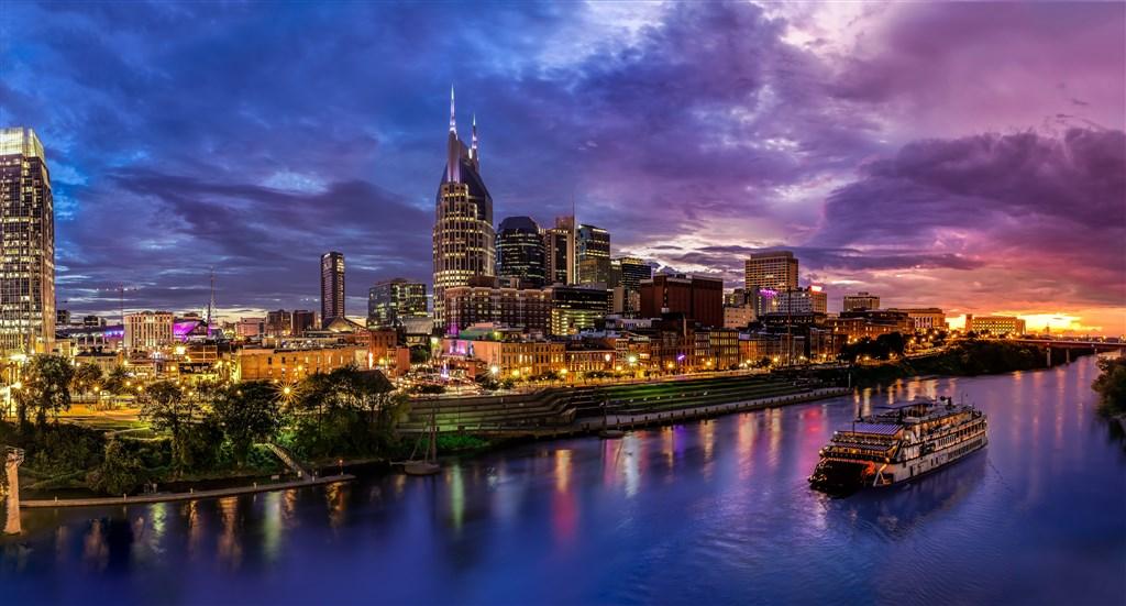 Music Cities: Louisiana-Tennessee-Georgia a Florida