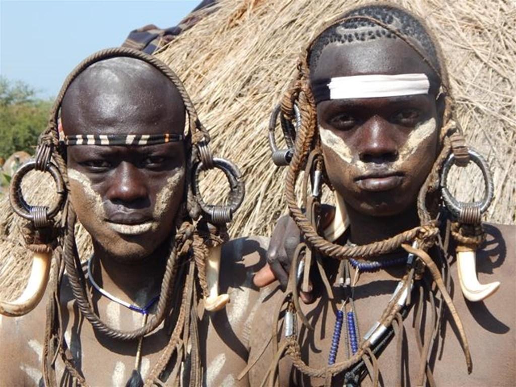 Okruh jižní Etiopií - Afrika