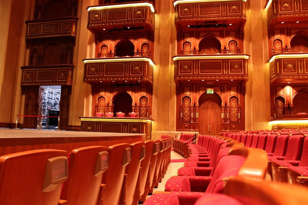 Do Královské opery v Ománu -