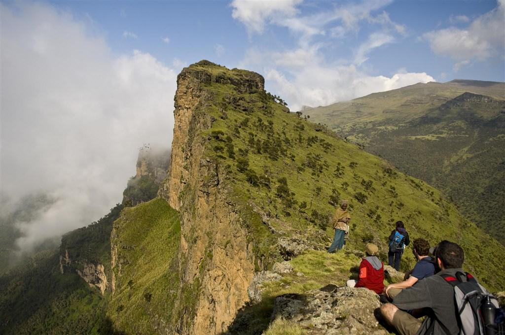 Okruh severní Etiopií s možným prodloužením v Danakilu -