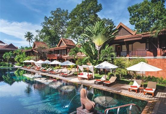 Belmond La Résidence d´Angkor - Kambodža - Po návratu z prohlídek chrámů je odpočinek u bazénu výbornou relaxací.