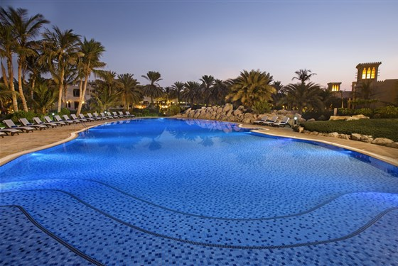 Marco Polo - Hilton Al Hamra Beach & Golf Resort Ras Al Khaimah - hlavní bazén