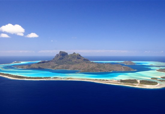USA - Havaj - Francouzská Polynésie (Moorea / Bora Bora) - Severní Amerika -