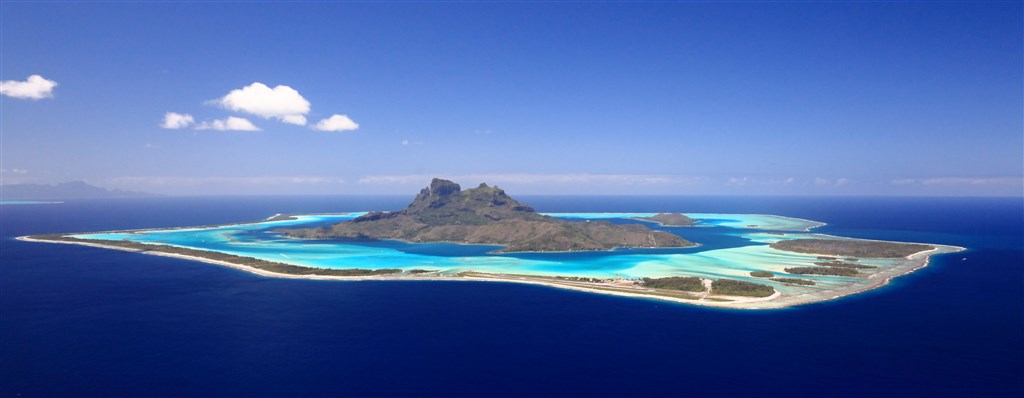 USA - Havaj - Francouzská Polynésie (Moorea / Bora Bora) - Čína