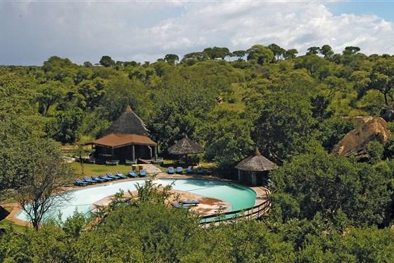 Marco Polo - Tarangire Sopa Lodge - Tarangire Sopa Lodge je rozprostřena v buši.