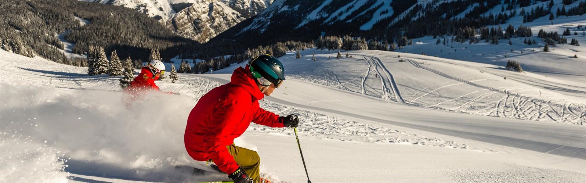 10 denní Ski Safari s průvodcem ve Skalnatých horách - Credit: Reuben Krabbe