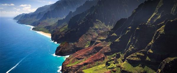USA, Havaj, Bahamy -