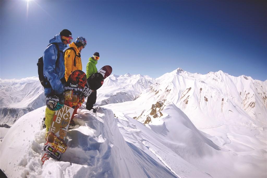 Na lyže do Gruzie - Tchaj-wan