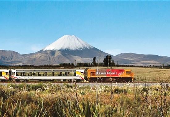 (nejen) Vlakem po Novém Zélandu s českým průvodcem - Nový Zéland -