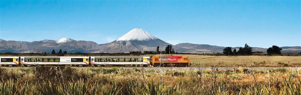 (nejen) Vlakem po Novém Zélandu s českým průvodcem -