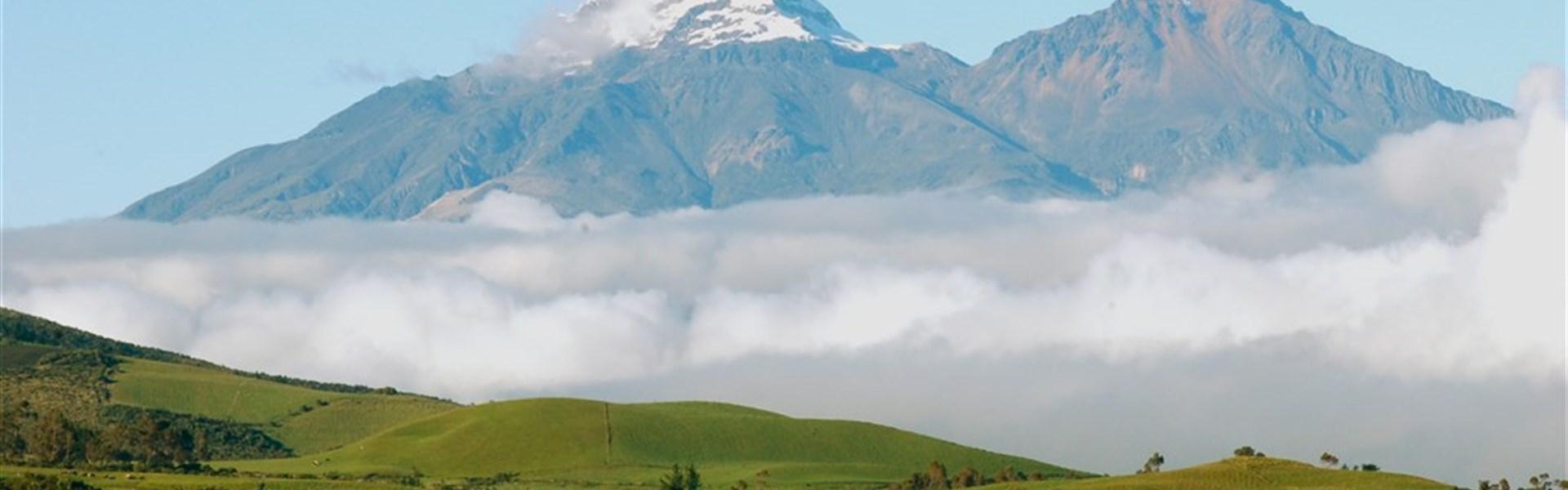 Okruh Ekvádorem - Země vulkánů - anglicky -