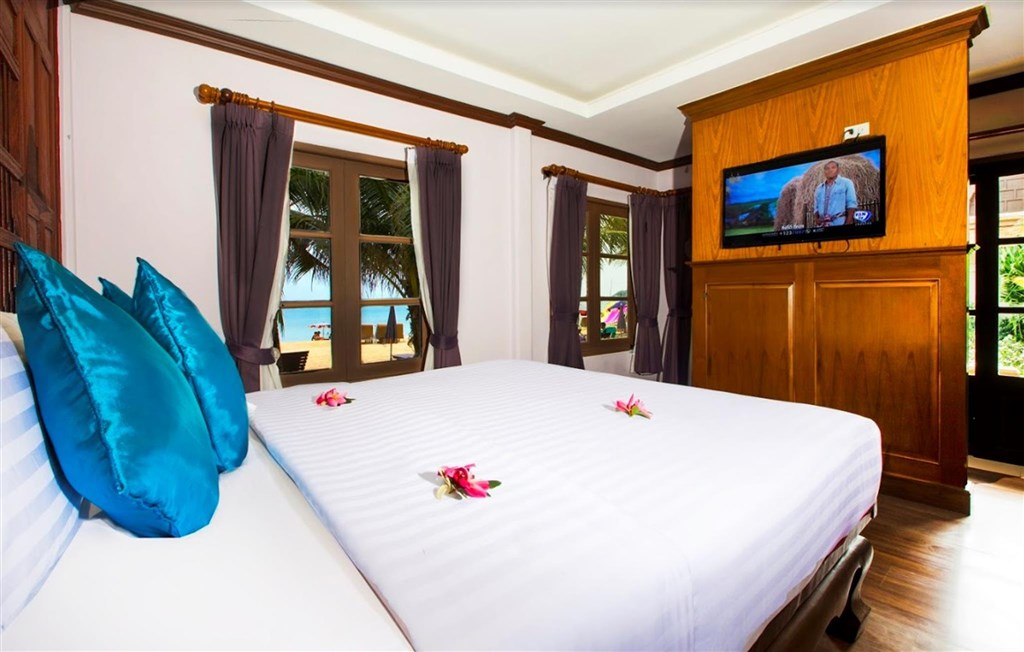 Fair House Beach Resort Koh Samui - pokoj grand deluxe bungalov