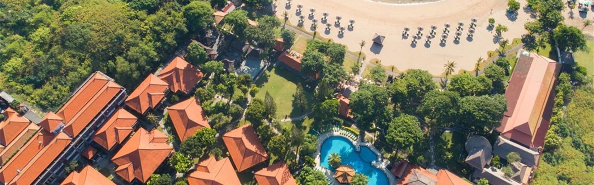 Marco Polo - Bali Tropic - hotelová zahrada a pláž