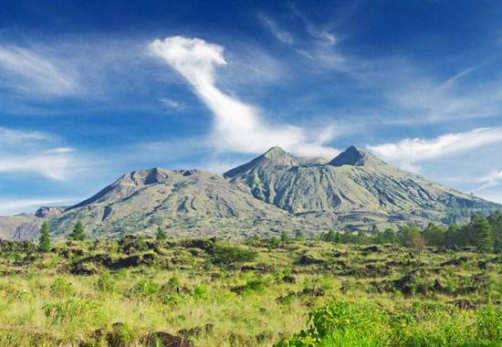 Nádherné Bali s pobytem u moře - Asie - sopka Batur