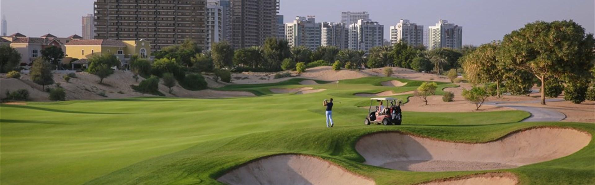 Golf v Dubaji -