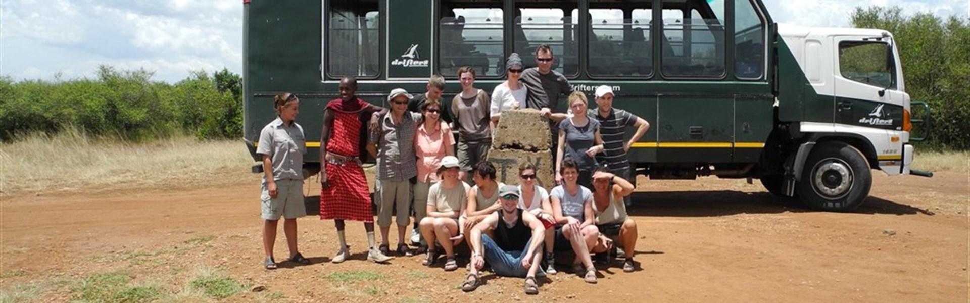 Expedice Východní Afrika s anglicky mluvícím průvodcem -