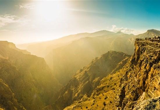 Off-Roadem do ománských hor + poušť + moře (self drive) -