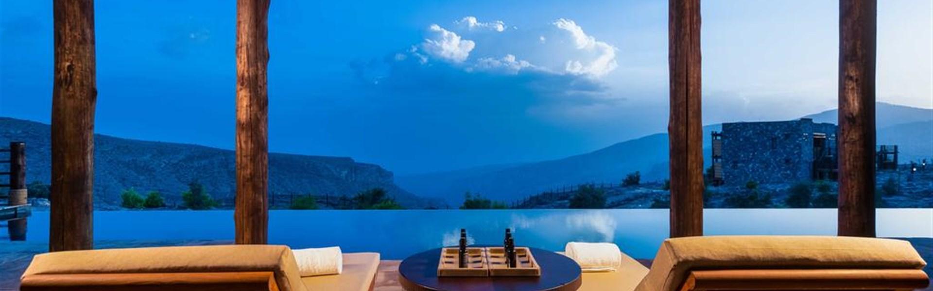 Luxusní privátní cesta zemí sultána Kábúse - Horský hotel Alila