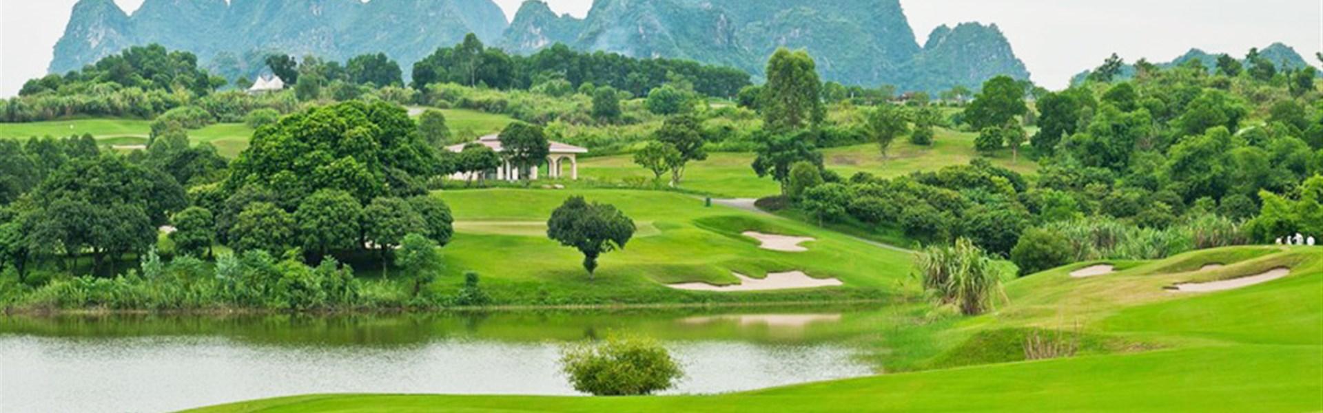 Golf ve Vietnamu - severní Vietnam - Golf ve Vietnamu - severní Vietnam