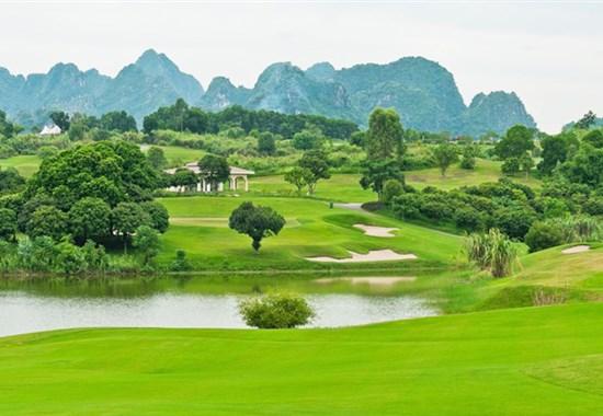 Golf ve Vietnamu - severní Vietnam - Asie - Golf ve Vietnamu - severní Vietnam