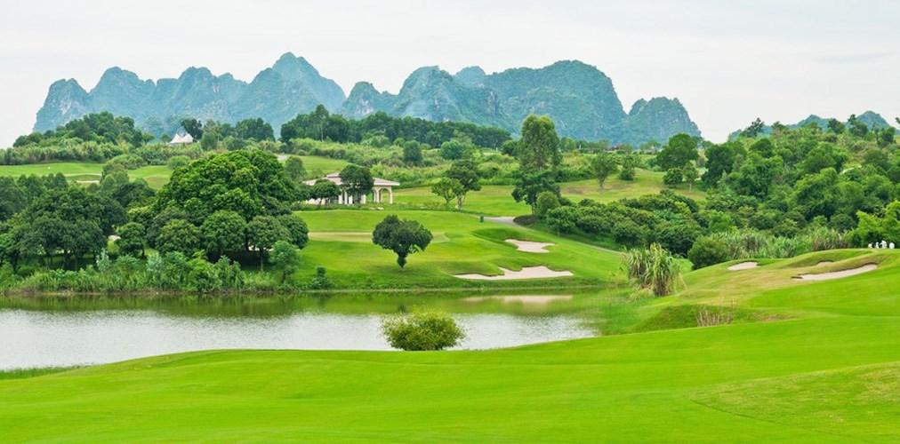 Golf ve Vietnamu - severní Vietnam -