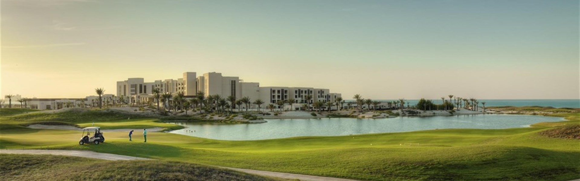 Luxusní golf v Abu Dhabi -
