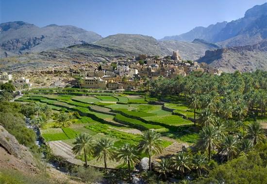 Self drive Ománem s pobytem u moře - Střední a Blízký Východ - Oáza pod horami Jabal Akhdar