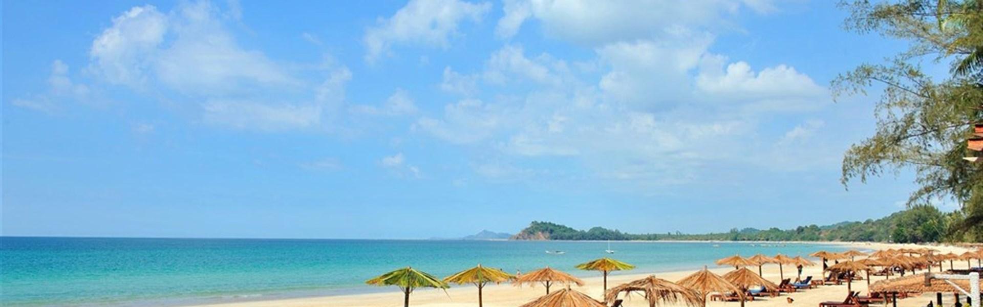 Ngapali - Amata Ngapali Resort - Barma - Ngapali Beach - Amata Ngapali - pláž
