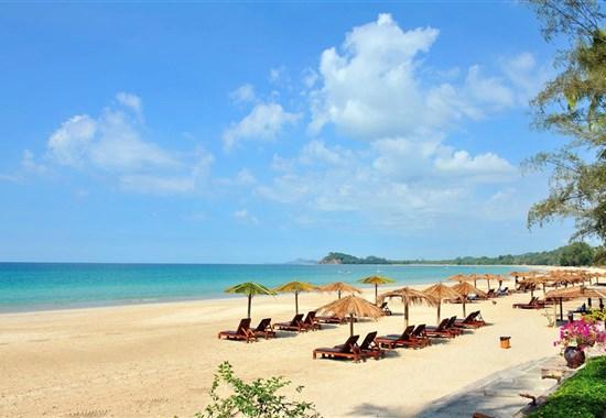 Ngapali - Amata Ngapali Resort - Barma (Myanmar) - Barma - Ngapali Beach - Amata Ngapali - pláž