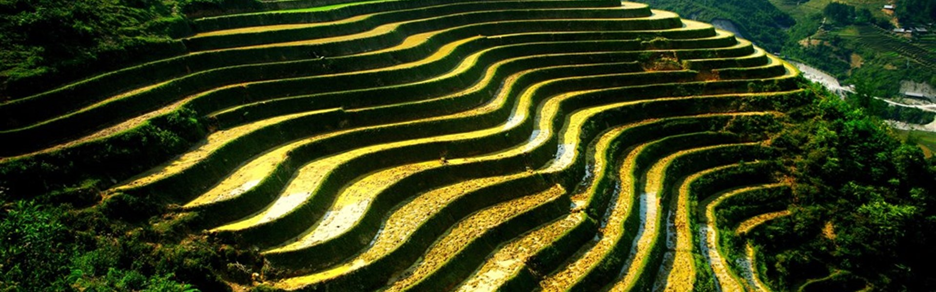 Okruh - Objevte severní Vietnam a Sapu s českým průvodcem - Sapa - krajina