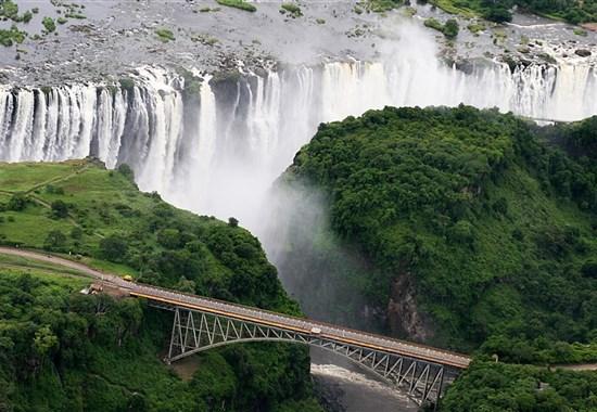 Okruh: Kapské Město + Viktoriiny vodopády + Botswana - Zimbabwe - Zimbabwe - Viktoriiny vodopády