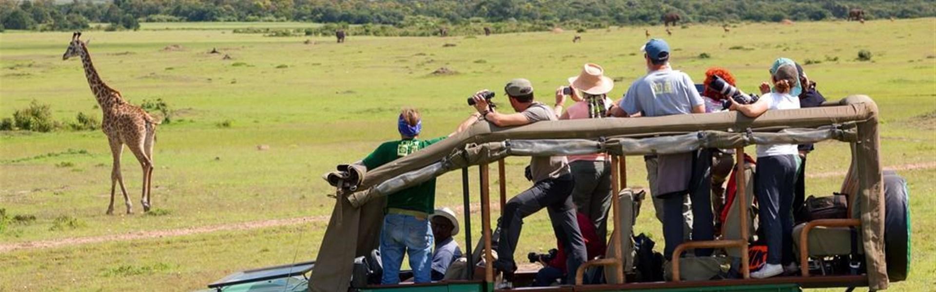 Safari v Keni - Putování za Velkou pětkou - s českým průvodcem - Safari v Masai Mara