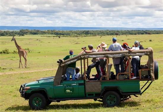 Safari v Keni - Putování za Velkou pětkou - s českým průvodcem - Keňa - Safari v Masai Mara