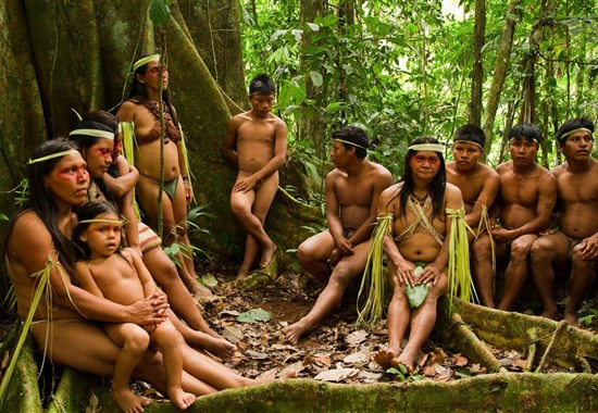 Prodloužení zájezdu do Ekvádoru o Amazonii - Jižní Amerika - Amazońie _ domorodci