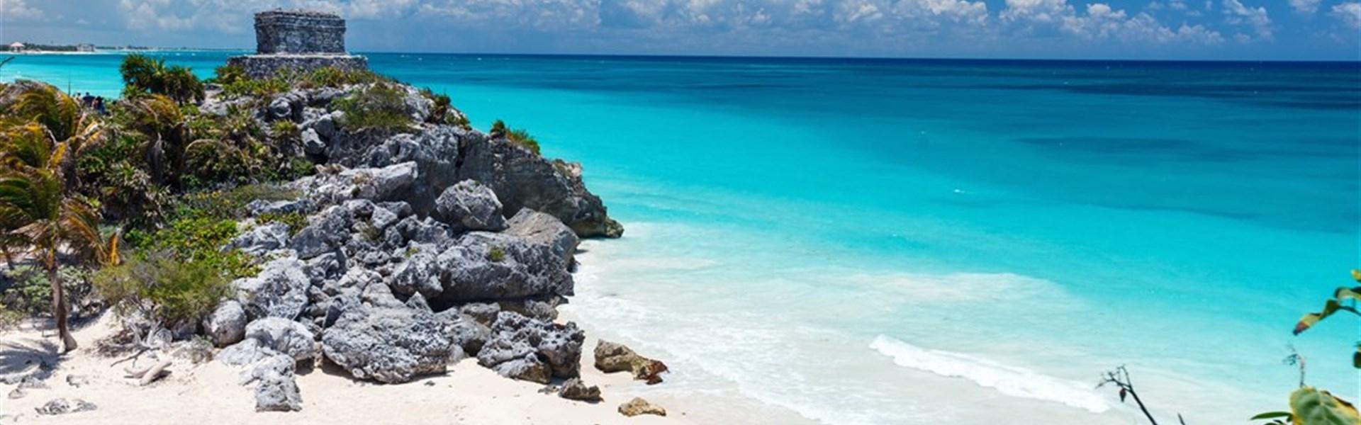 Mayské poklady Yucatanu a pobyt u moře -