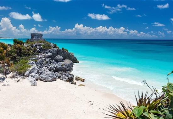 Mayské poklady Yucatanu a pobyt u moře - Mexiko -