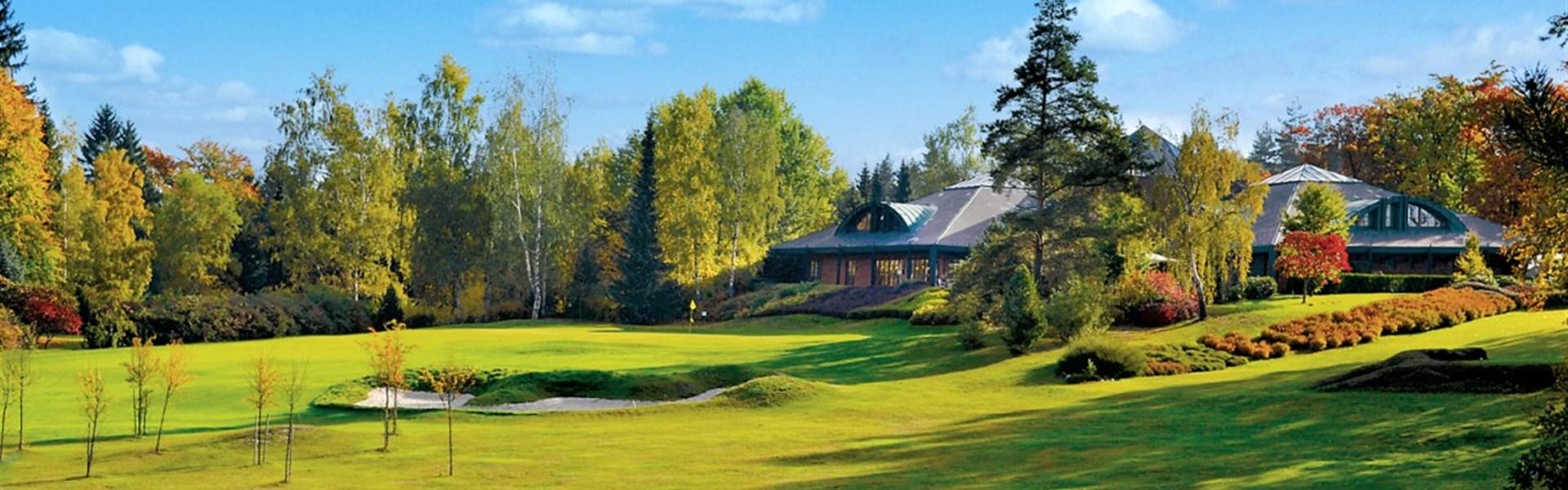 Karlovy Vary - Golf na 2 různých hřištích a pobyt na Růži -