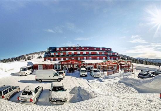 Hotel Špindlerova Bouda - zima - Evropa