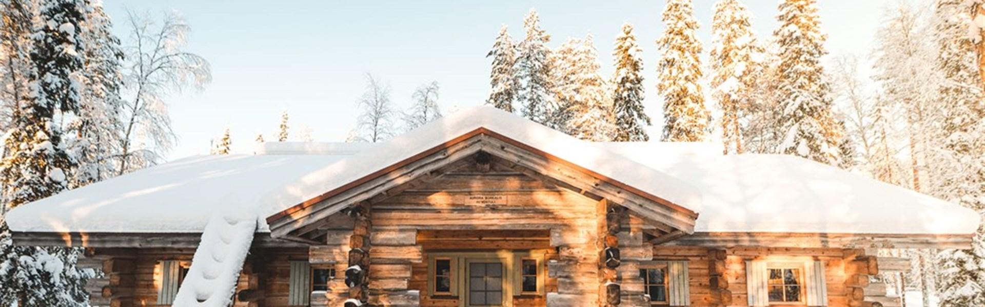 Zimní Laponsko - balíček 4 nebo 5 dní na polárním kruhu -