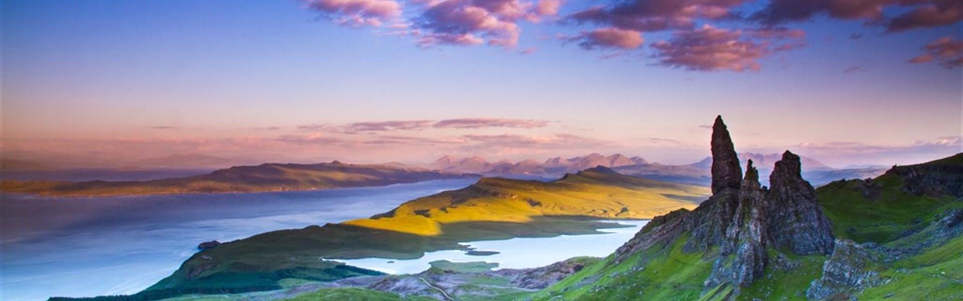 Skotsko - to nejlepší včetně ostrova Skye, po zemi i vlakem -