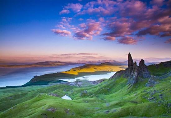 Skotsko - to nejlepší včetně ostrova Skye, po zemi i vlakem - Evropa